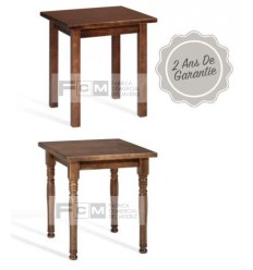 Table hôtellerie Bar 70x70