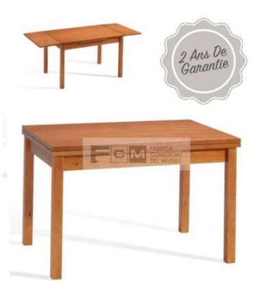 Table hôtellerie Algor Extensible 120x80