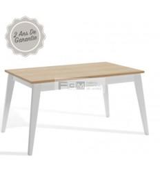 Table hôtellerie Nordique extensible 140x90