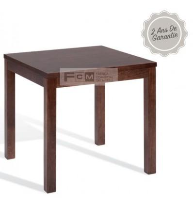 Table hôtellerie Dunia 70x70