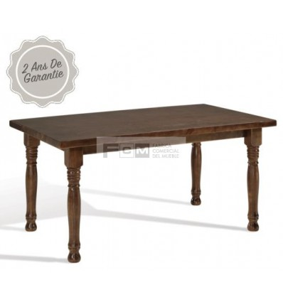 Table hôtellerie Moyenne 160x90