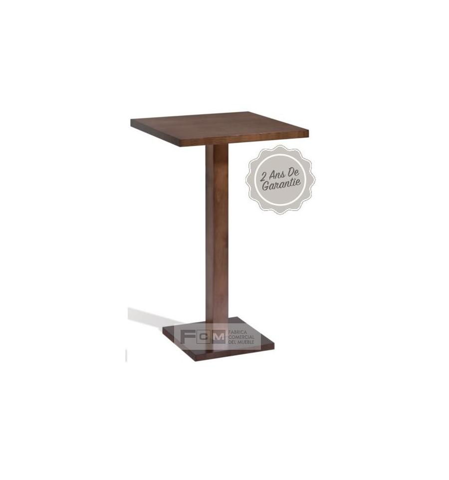 Table h tellerie merlot haute fcm mobilier h tellerie for Mobilier table haute