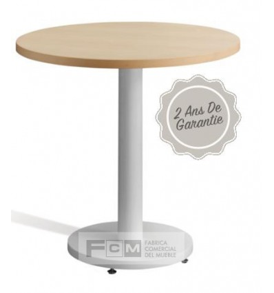 Table hôtellerie Lille70 Ø