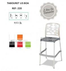 Tabouret hôtellerie Lis Boa