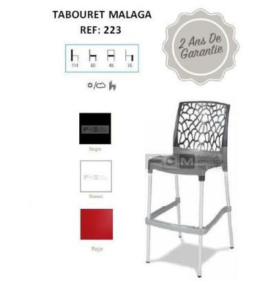 Tabouret hôtellerie Malaga