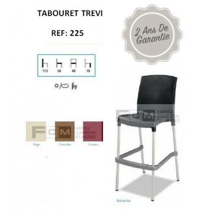 Tabouret hôtellerie Trevi