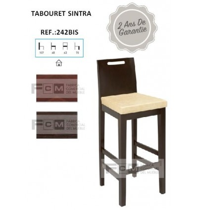 Tabouret hôtellerie Sintra