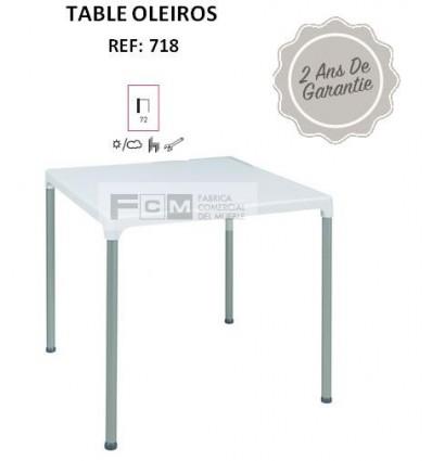 Table OLEIROS 70x70