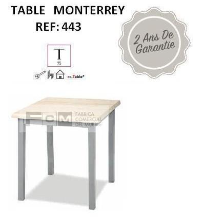 Table MONTERREY