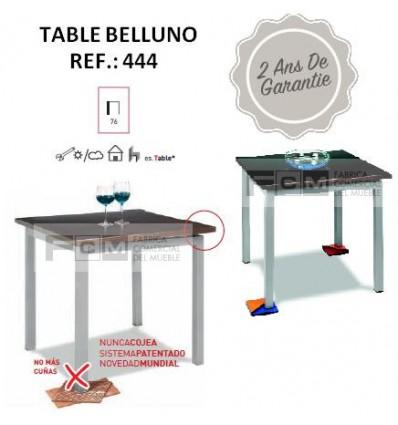 Table BELLUNO